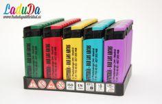 Mecheros personalizados F4 color tinta negra