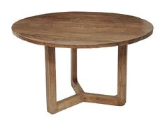 Old wood round dining table by Terra Nova Designs by TerraNovaLA, $1198.00
