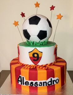 Football cake - Cake by Le Pam Delizie