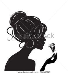 Siluetas Negras De Mujer Fotos, imágenes y retratos en stock | Shutterstock