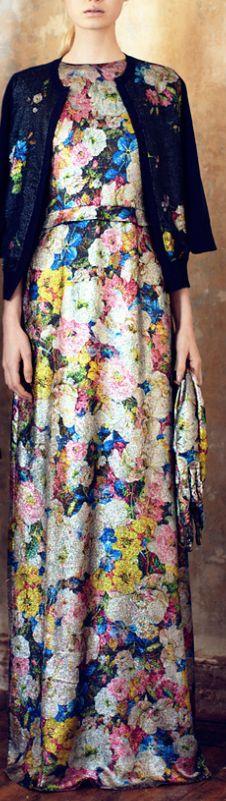 floral fashion couture erdem pre-aw 13 #FlowerShop