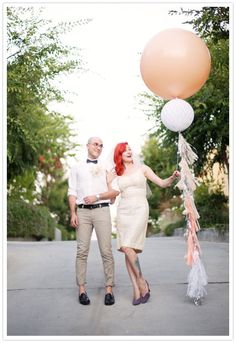 Geronimo wedding balloons