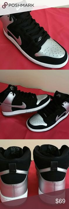 2014 Nike SB Dunk High PRO Size 10.5 MEN & 12 WOMN Brand New without box. Used as a display model at the nike store. Never used or tried on. Nike Shoes Sneakers