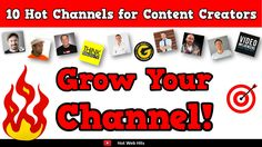 If you're a YouTube content creator who wants to keep up with the latest updates on YouTube as well as resources and tools to grow your channel, check these 10 hot channels out:
