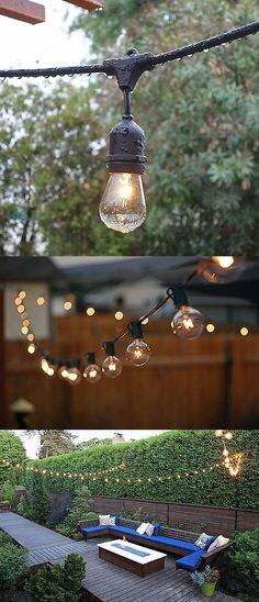 Feit Electric String Lights Extraordinary Outdoor String Lights 183394 Feit Electric 72041 30 10Socket 15 Inspiration
