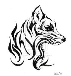 wolf tattoo - Google Search