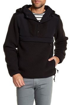 Image of Saturdays Surf NYC Vlad Fleece Hooded Jacket