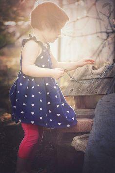 child photography, golden light, birdhouse