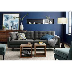 Déco Salon – quelle peinture choisir pour la déco salon, couleur mur ...
