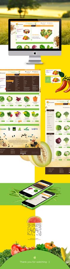 Svit Nasinnya | Web design on Behance