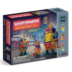 Magformers, magnetisk byggesæt - Walking robot set