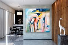 """See our site for additional info on """"modern abstract art painting"""". It is actually an outstanding location to learn more. Large Abstract Wall Art, Abstract Canvas, Modern Art Movements, Bright Paintings, Artwork Display, Modern Wall Art, Abstract Photography, Internet, Mixed Media"""