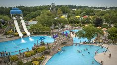 Wet 'N Wild Emerald Pointe Water Park in Greensboro is one of the largest water parks in the U.S.