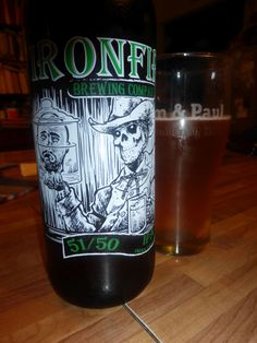 Ironfire 51/50 IPA. Spicy stuff with tons of hops #craftbeer.