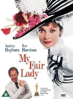 Hepburn and Rex Harrison star in the classic movie My Fair Lady. Love this cover artwork!Audrey Hepburn and Rex Harrison star in the classic movie My Fair Lady. Love this cover artwork! My Fair Lady, Film Musical, Film Movie, Movies Showing, Movies And Tv Shows, Film Maker, Audrey Hepburn Movies, The Blues Brothers, Bon Film