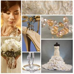 See how you can pull off a glamorous style on your big day.