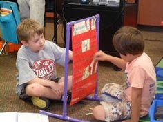 First Grade Fabulosity: Spelling Station Idea!