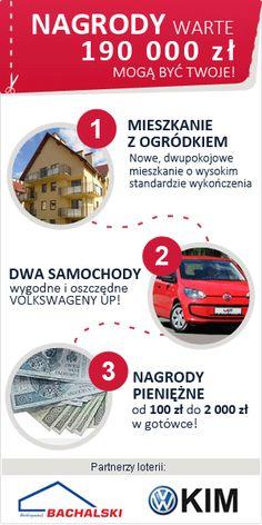 """Kupując codziennie """"Gazetę Lubuską"""" możesz stać się właścicielem mieszkania, samochodu oraz gotówki."""