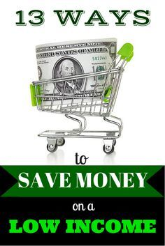 Saving money on a low income can be difficult. Learn some great tips here! #saving #money