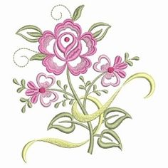 Dainty Roses 4 - 2 Sizes! | What's New | Machine Embroidery Designs | SWAKembroidery.com Ace Points Embroidery