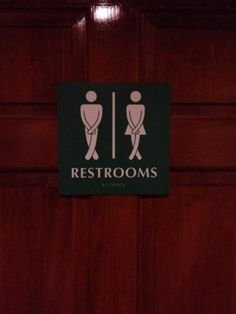 Kilt Bathroom Sign scottish #toilets can be confusing #kilt #scotland #glasgow