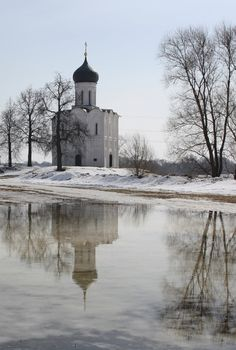 The Church of the Intercession of the Holy Virgin on the Nerl River. Храм Покрова на Нерли.
