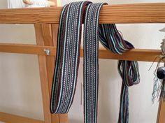 Bag handle woven on band loom. Karen Isenhower