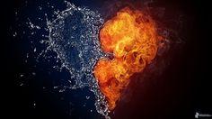 Descripción grafica de un corazón unido a otro