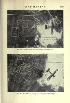 Airplane photography | Always wondered in how far Paul Klee's art was inspired by early air photography. Something to research some day...