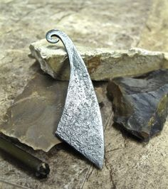 Flint Striker - forged steel bushcraft scouting camping accessory, perfect for christmas or birthdays.