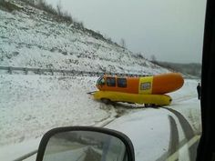 Wurst accident ever.  (No bun intended)