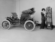 Before there was Tesla electric cars there was Eddison