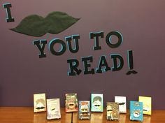November: I Moustache You To Read!