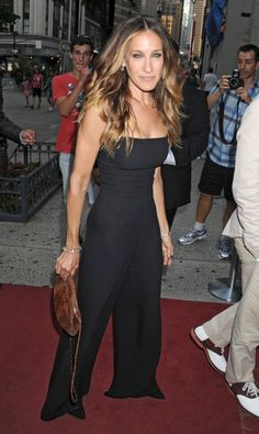 Sarah Jessica Parker attended the Friends In Deed benefit.