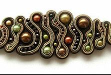 inspiring bead embroidered jewelry - Google Search