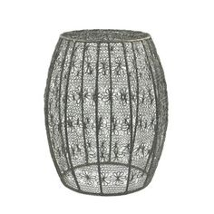 Crochet Wire Barrel now featured on Fab.  $110