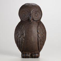 Cast Iron Owl Doorstop | World Market