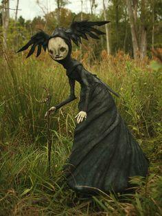 Scott Radke sculpte des créatures de son imaginaire  2Tout2Rien