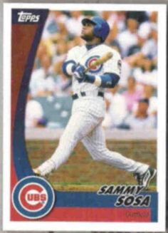 2002 7 of 30 topps sammy sosa  NR-MT    Have 1 for sell/trade