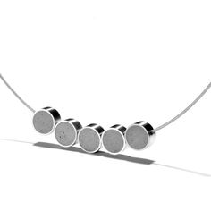 Concret and steel jewerly by Kon Zut