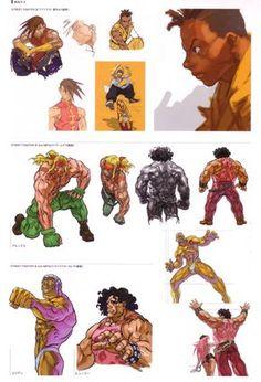 Kinu Nishimura Street Fighter 3 art