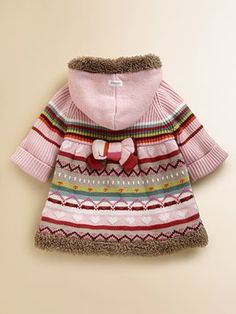 Catimini - InfloFresh Sageant's Hooded Long Sweater - Saks.com.....LOVE
