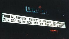 Morrissey House of Blues Sign   by StereoStef