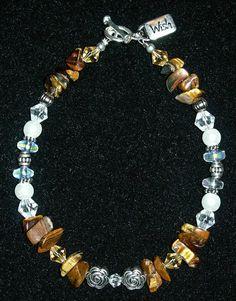 Tigers Eye Wish Bracelet by SusiesBijoux on Etsy, $15.00