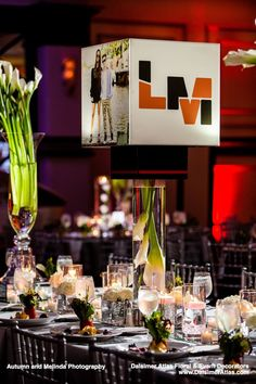 A stylish B'nai Mitzvah at Congregation B'nai Israel in Boca Raton. Bar Mitzvah and Bat Mitzvah theme decorations and centerpieces by Dalsimer Atlas. Bar Mitzvah Decorations, Bar Mitzvah Themes, Bat Mitzvah, Table Decorations, Centerpieces, Stylish, Creative, Floral, Party