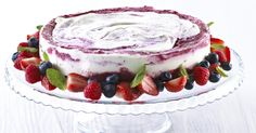 Superrask iskake Frisk, Sorbet, Cheesecake, Deserts, Ice Cream, Cold, Treats, Baking, Cakes