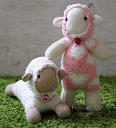 Free Patterns for Sewn Toys | AllFreeSewing.com