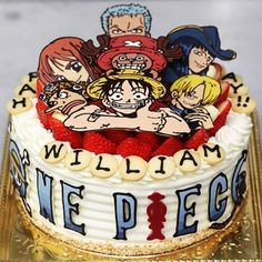 Great one piece birthday cake.. love it