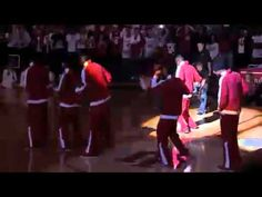 Hoosier Hysteria! Not the best quality, but seriously how can anyone not love these boys?!?!