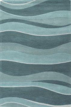 Kas Oriental Eternity Landscapes Ocean Rug